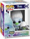 Trolls World Tour - Guy Diamond with Tiny (Glitter) Vinyl Figur 882 powered by EMP (Funko Pop!)