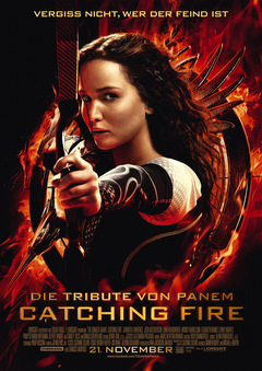 'Catching Fire' Poster © Studiocanal