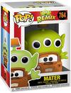 Monster AG Alien Remix - Mater Vinyl Figur 764 powered by EMP (Funko Pop!)
