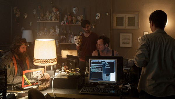 Die Hackergruppe 'CLAY' in Aktion © Sony Pictures