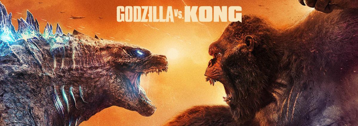 Kino-Charts USA: Godzilla vs. Kong: Der erste Kino Blockbuster seit der Pandemie!