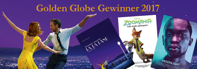 Golden Globe Gewinner 2017: La La Land stellt neuen Rekord auf!