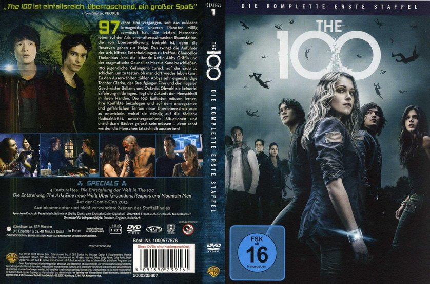 the 100 staffel 1 dvd oder blu ray leihen. Black Bedroom Furniture Sets. Home Design Ideas