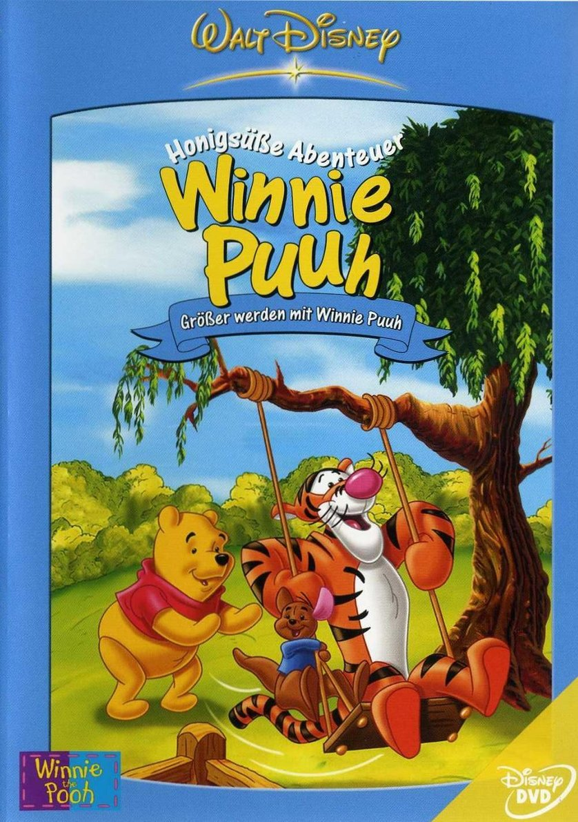 winnie puuh honigs e abenteuer 8 gr er werden mit winnie puuh dvd oder blu ray leihen. Black Bedroom Furniture Sets. Home Design Ideas