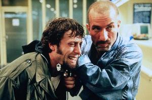 Ralf Richter mit Oliver Korittke in 'Bang Boom Bang' (1999) © Senator Film