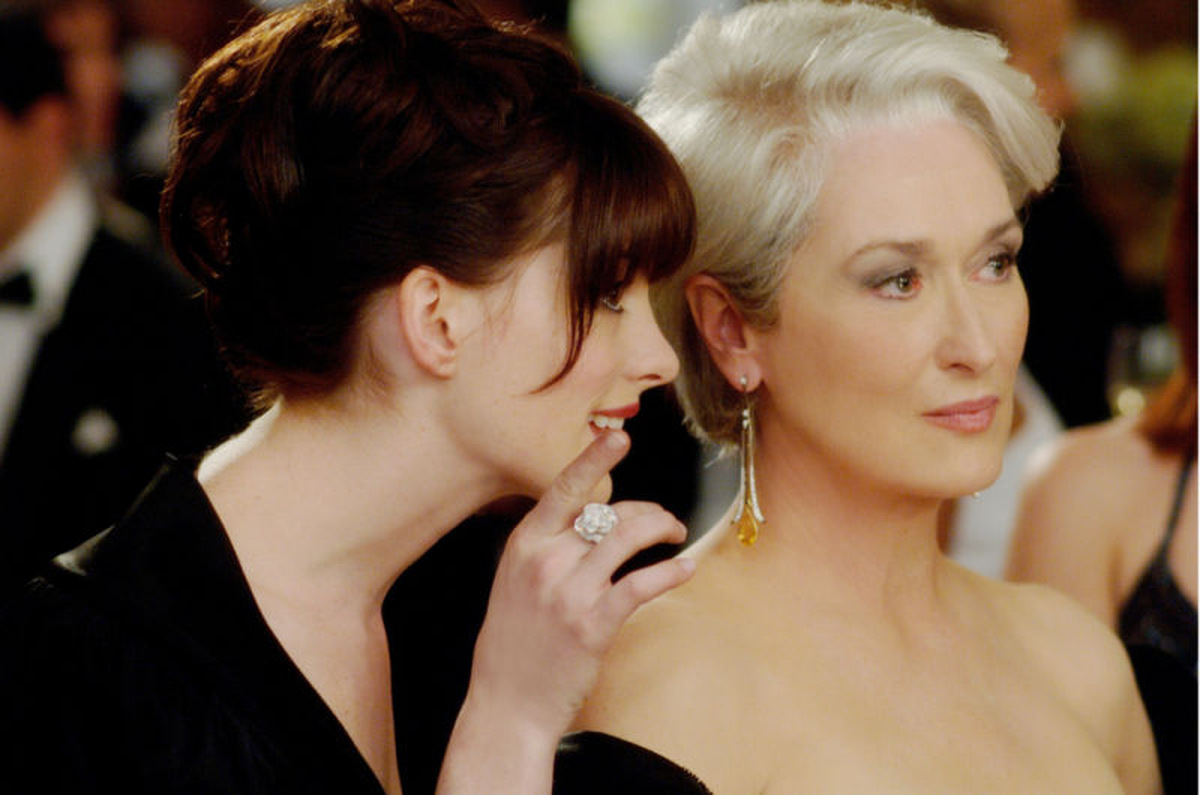 Anne Hathaway und Meryl Streep © 20th Century Fox Home Entertainment 2006
