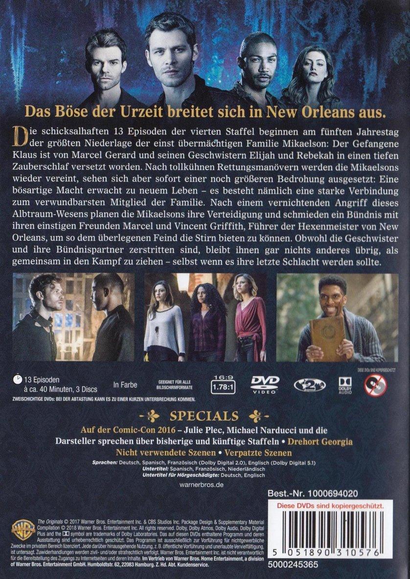 The originals staffel 4 dvd oder blu ray leihen for The originals staffel 4