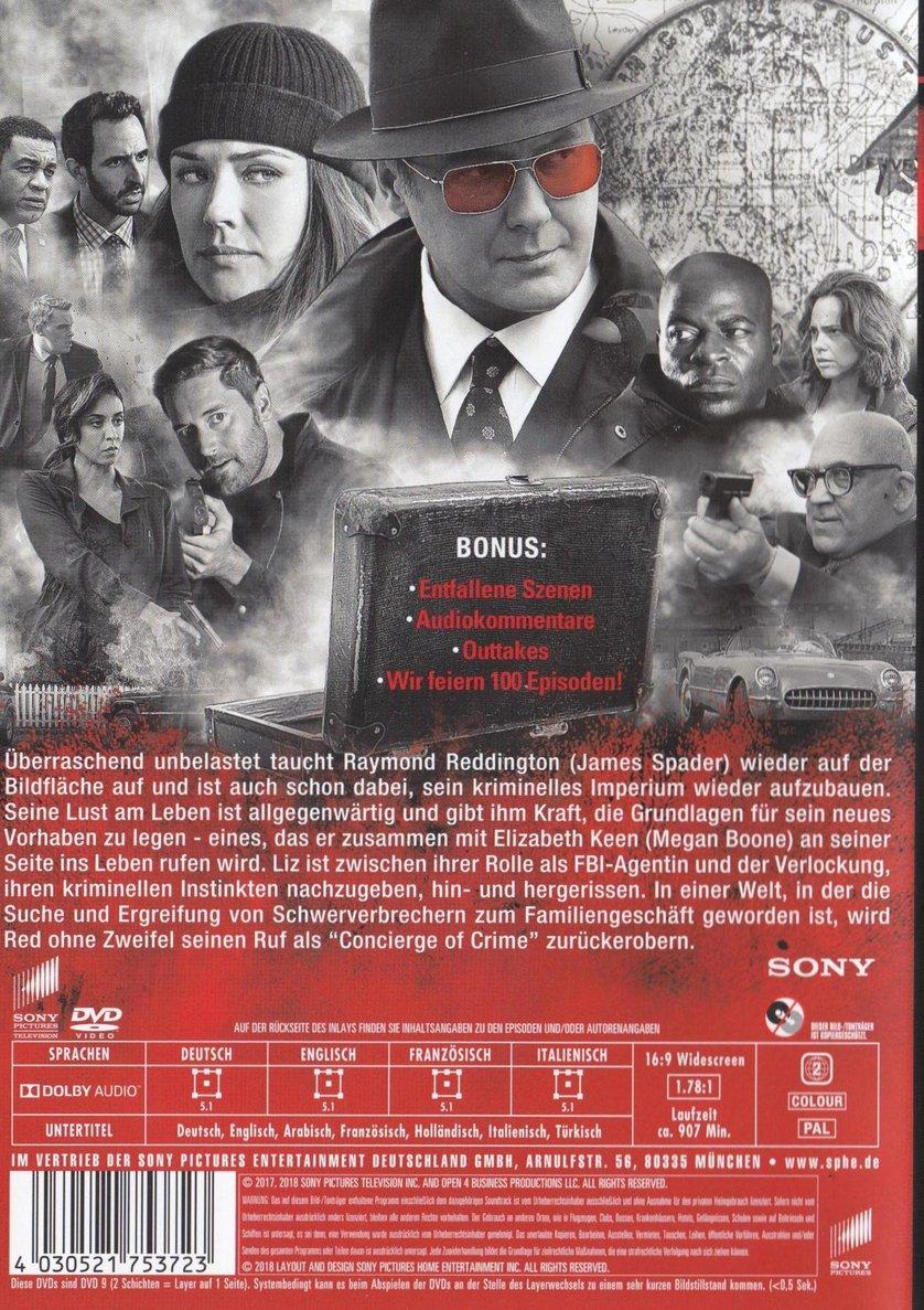 The Blacklist Staffel 6 Deutschland