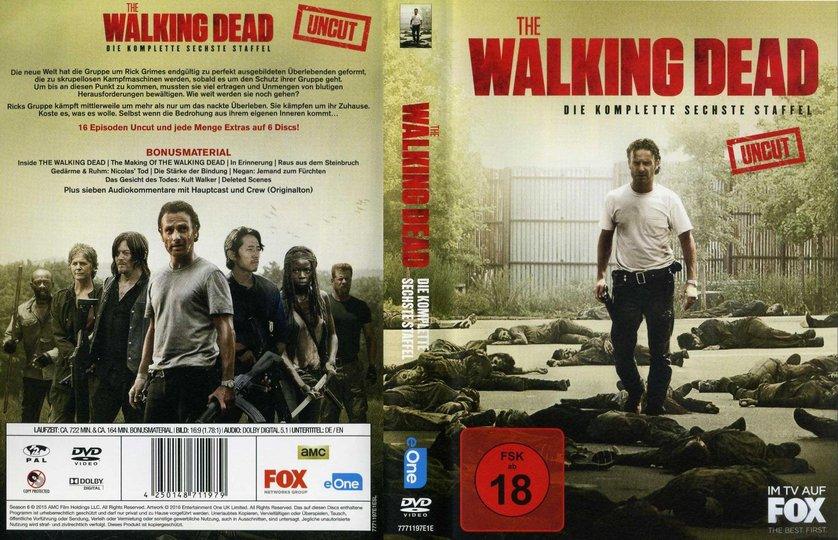 Walking Dead 6 Staffel Dvd