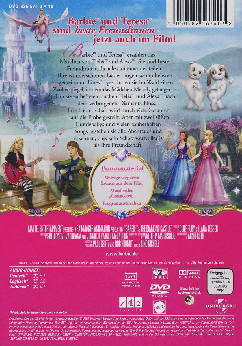 Barbie Diamantschloss Ausmalbilder : Malvorlagen Barbie Und Das Diamantschloss Die Beste Idee Zum
