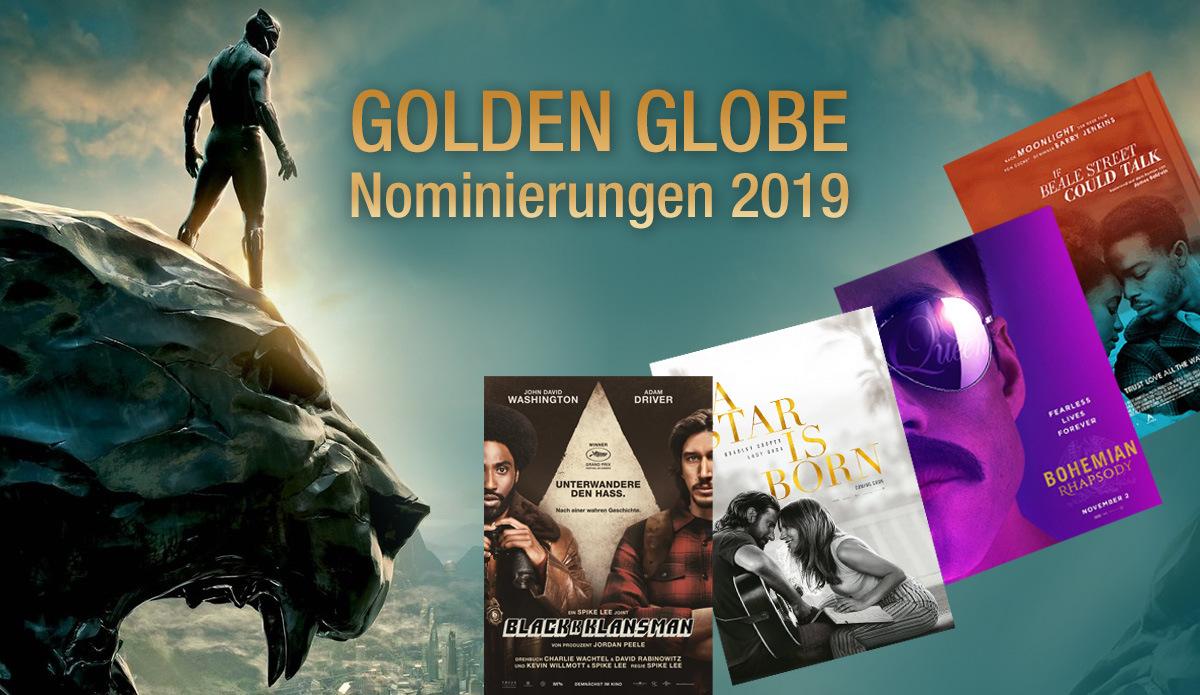 Golden Globe Nominierungen 2019: Die nominierten Filme der Golden Globe Awards 2019