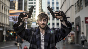 Daniel Radcliffe in 'Guns Akimbo' (2019) © Universum Film