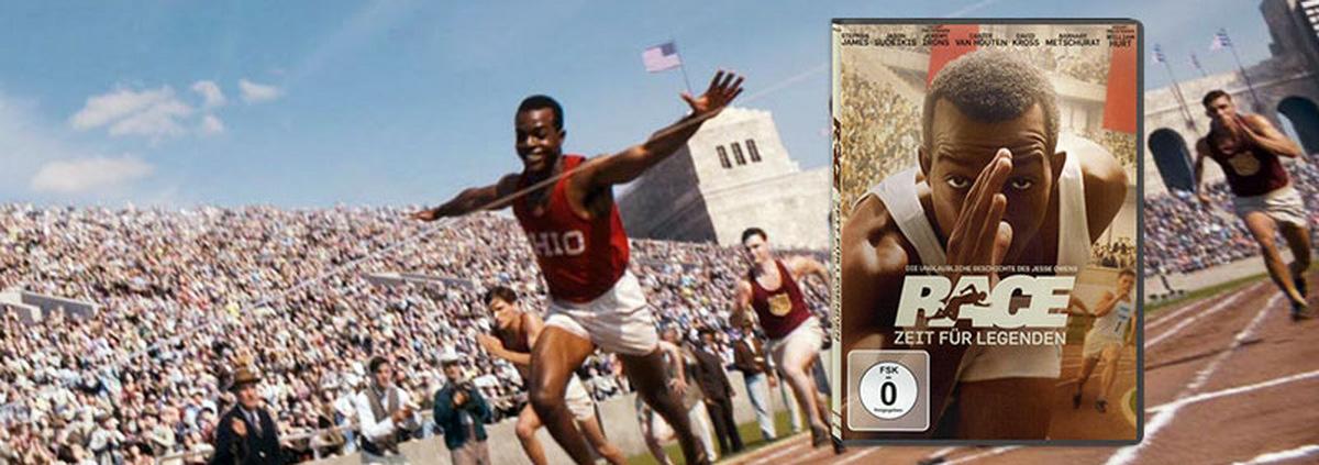 Race - Zeit für Legenden: Eine Sportler, der ein Zeichen setzte