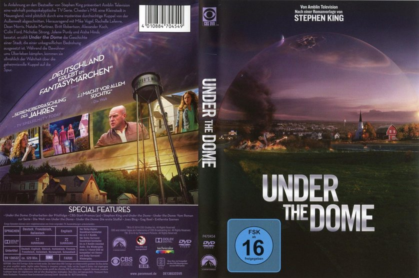 under the dome staffel 3 folge 1