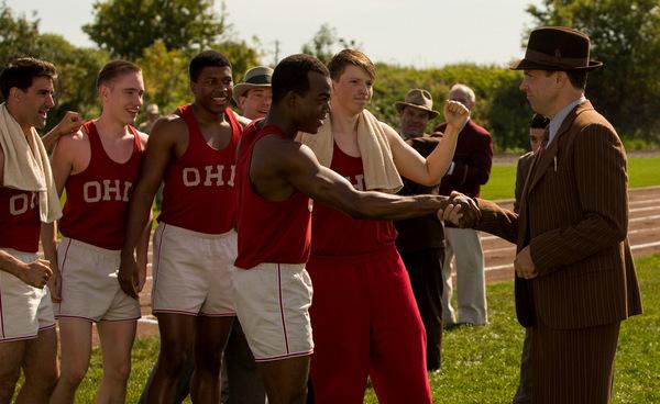 Stephan James und Jason Sudeikis in 'Race'