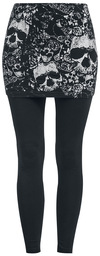Black Premium by EMP 2 in 1: Leggings und Rock powered by EMP (Leggings)