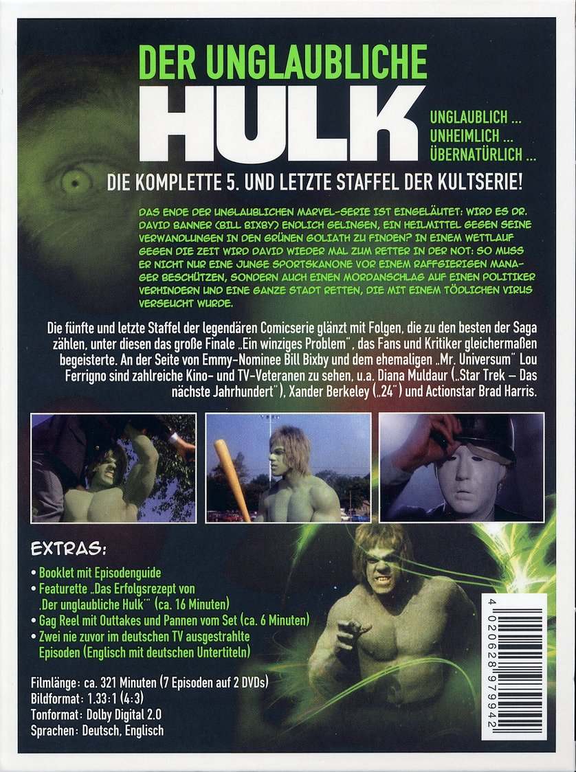 Der Unglaubliche Hulk Blu Ray