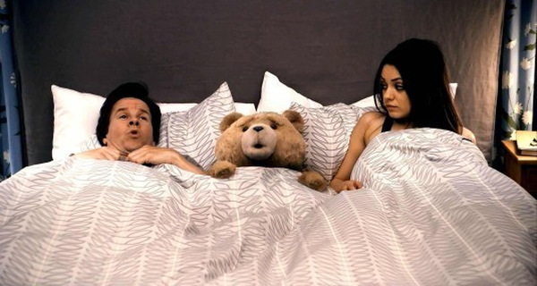 Mark Wahlberg und Mila Kunis in 'Ted' © Universal Pictures 2012