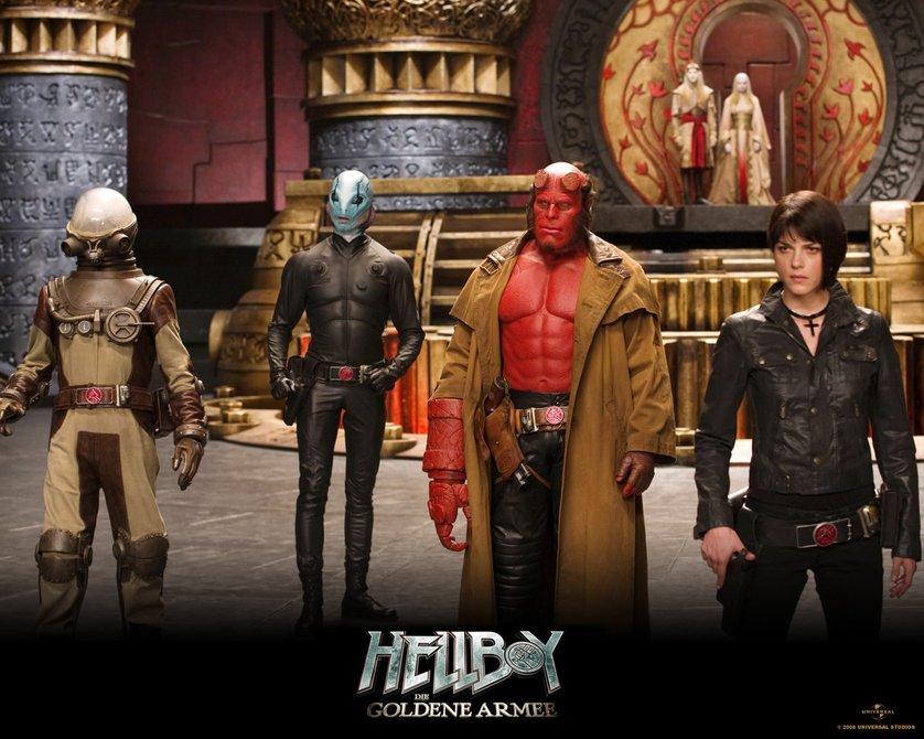 hellboy 2 die goldene armee dvd oder blu ray leihen. Black Bedroom Furniture Sets. Home Design Ideas