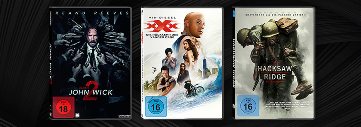 Juni-Highlights DVD & Blu-ray: Und Action! Eure Film-Highlights im Juni