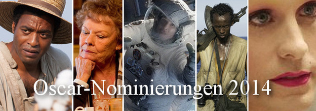 Oscar-Nominierungen 2014: Die Oscar-Nominierten für den Oscar 2014 stehen fest!