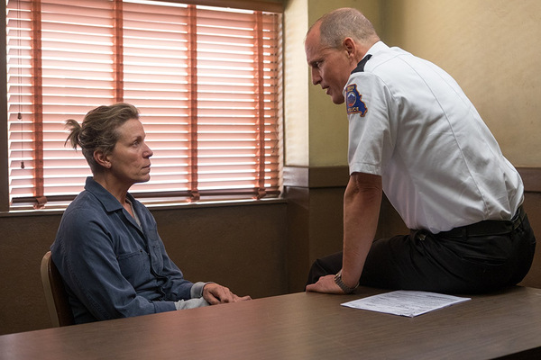 Frances McDormand und Woody Harrelson in 'Three Billboards Outside Ebbing, Missouri' © 20th Century Fox