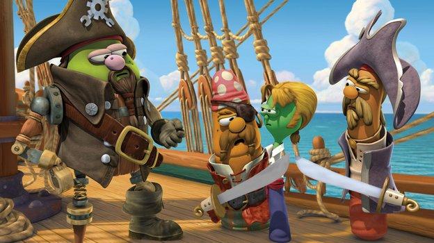 Ein Veggietales Abenteuer - Drei heldenhafte Piraten