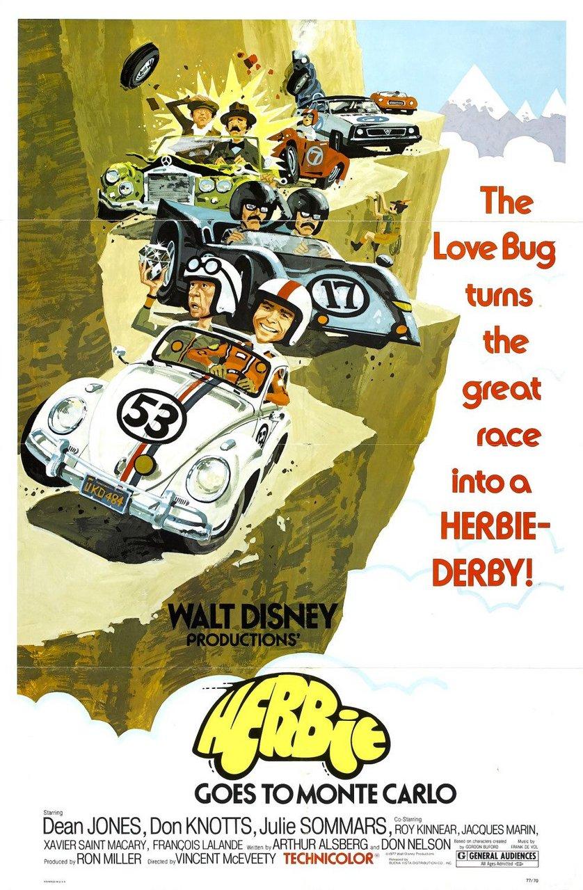 Der Tolle Käfer In Der Rallye Monte Carlo