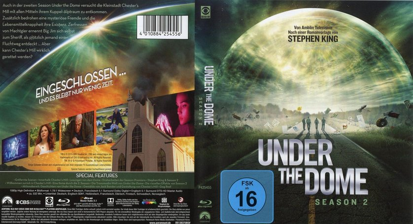 under the dome staffel 2