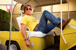 Brad Pitt als Stuntman Cliff Booth in 'Once Upon a Time in Hollywood' © Sony Pictures