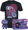 Captain America Marvel Patriotic Age - Captain America (Art Series) - Pop! & Tee powered by EMP (Funko Pop!)