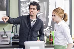 Regisseur Damien Chazelle mit Emma Stone © Studiocanal
