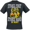 Karate Kid Strike First, Strike Hard, No Mercy powered by EMP (T-Shirt)