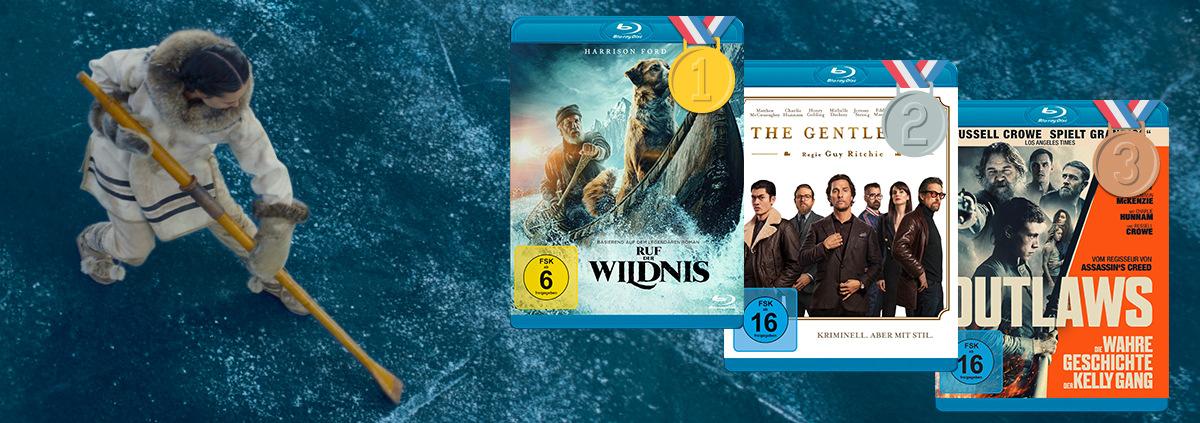 DVD & Blu-ray Charts 08-2020: Die Top 10 DVD und Blu-ray Charts im August 2020