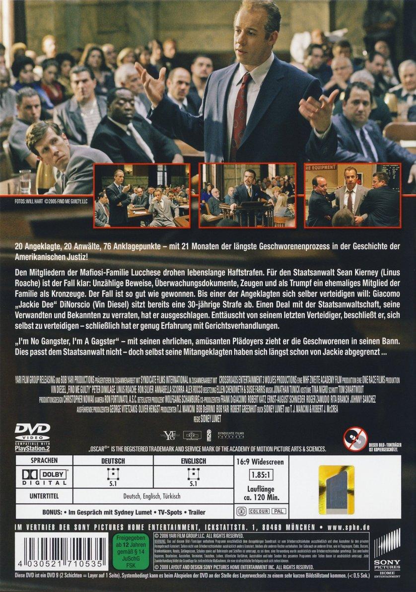 Find Me Guilty – Der Mafiaprozess