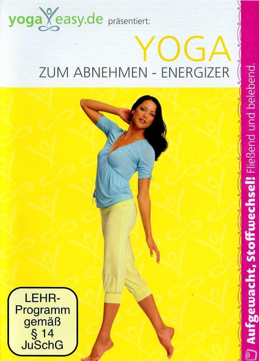 yoga zum abnehmen energizer dvd oder blu ray leihen. Black Bedroom Furniture Sets. Home Design Ideas