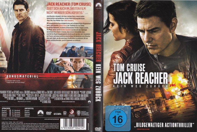jack reacher 2 stream deutsch