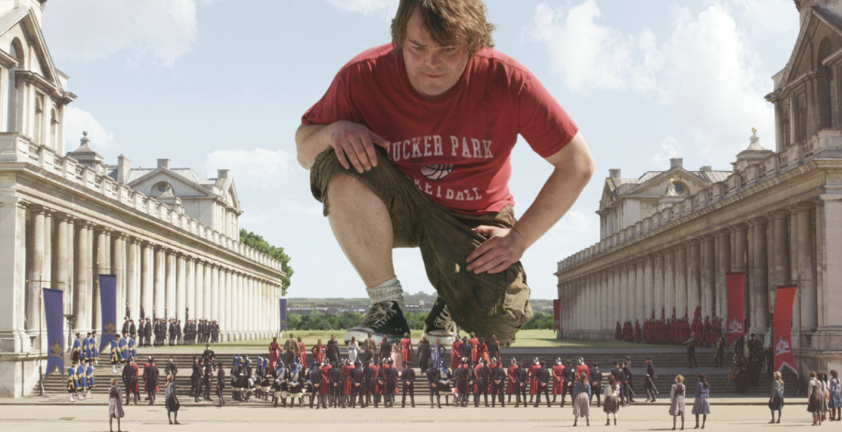 Jack Black in 'Gullivers Reisen' © 20th Century Fox Home Entertainment 2010