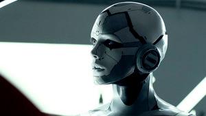 Androidin 'J3' in 'Archive' 2020 © Capelight