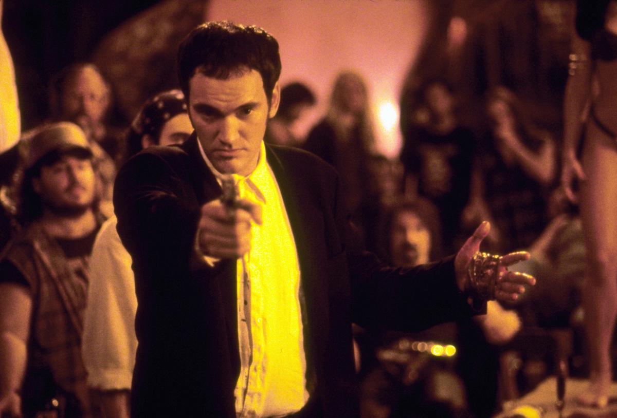 Quentin Tarantino als Richard Gecko in Robert Rodriguez' 'From Dusk Till Dawn' (USA 1996) © Dimension Films