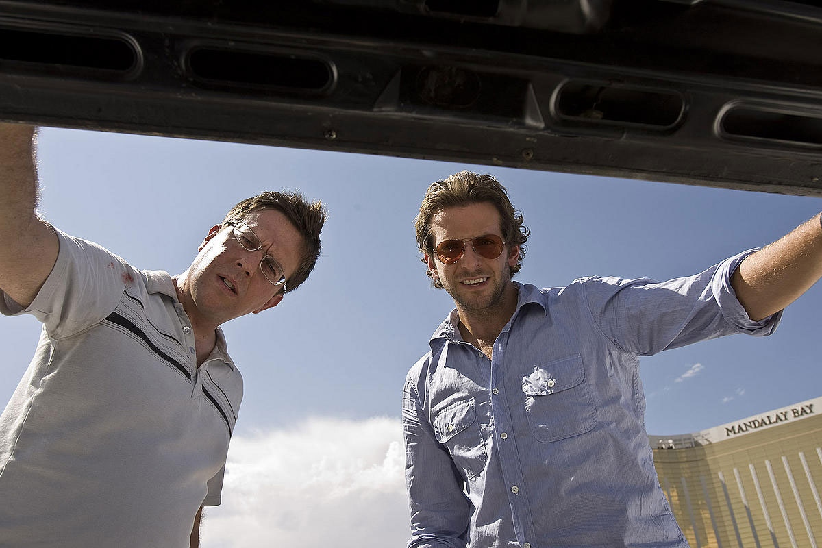 Ed Helms und Bradley Cooper in 'Hangover' © Warner Home Video 2009