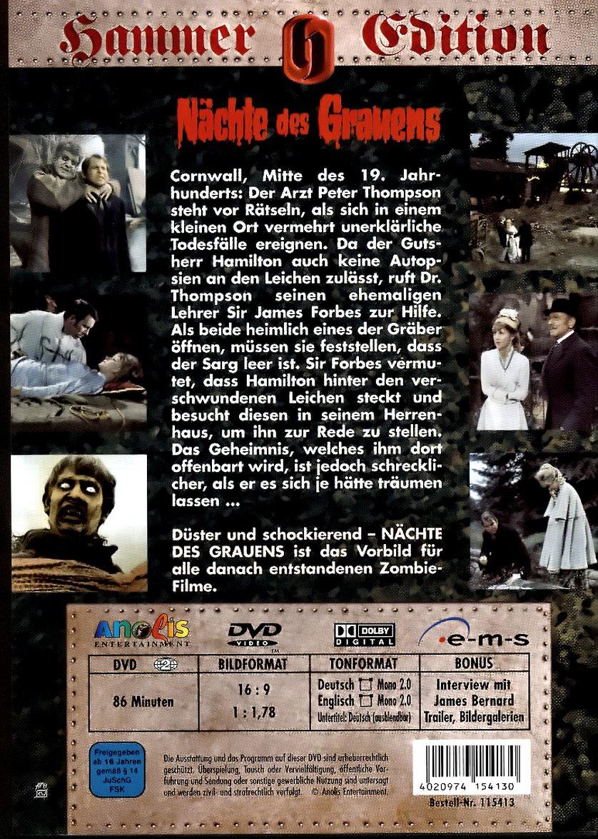 Nächte des Grauens DVD oder Bluray leihen  VIDEOBUSTERde