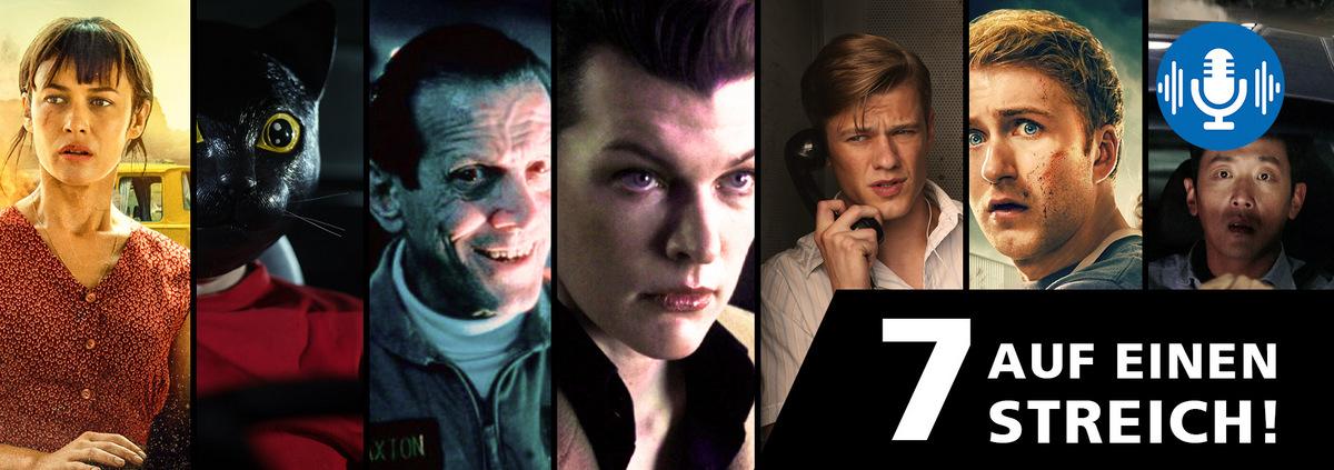 Mega Podcast mit 7 Filmen: 7 Filme auf einen Streich im Mega Podcast