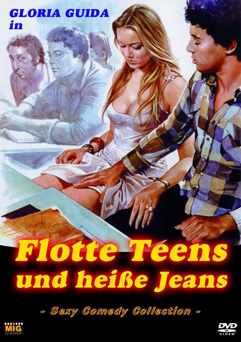 Flotte Teens Und Heiße Jeans