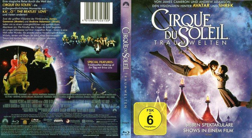 cirque du soleil blu ray  Cirque du Soleil - Traumwelten: DVD oder Blu-ray leihen -