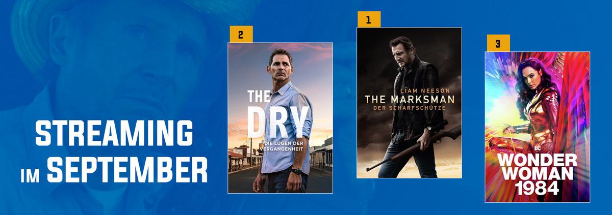 Stream-Charts September 2021: Noch immer die Nr. 1: THE MARKSMAN hält die Führung!
