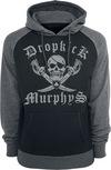 Dropkick Murphys Shipping Up To Boston Kapuzenpullover schwarz grau powered by EMP (Kapuzenpullover)