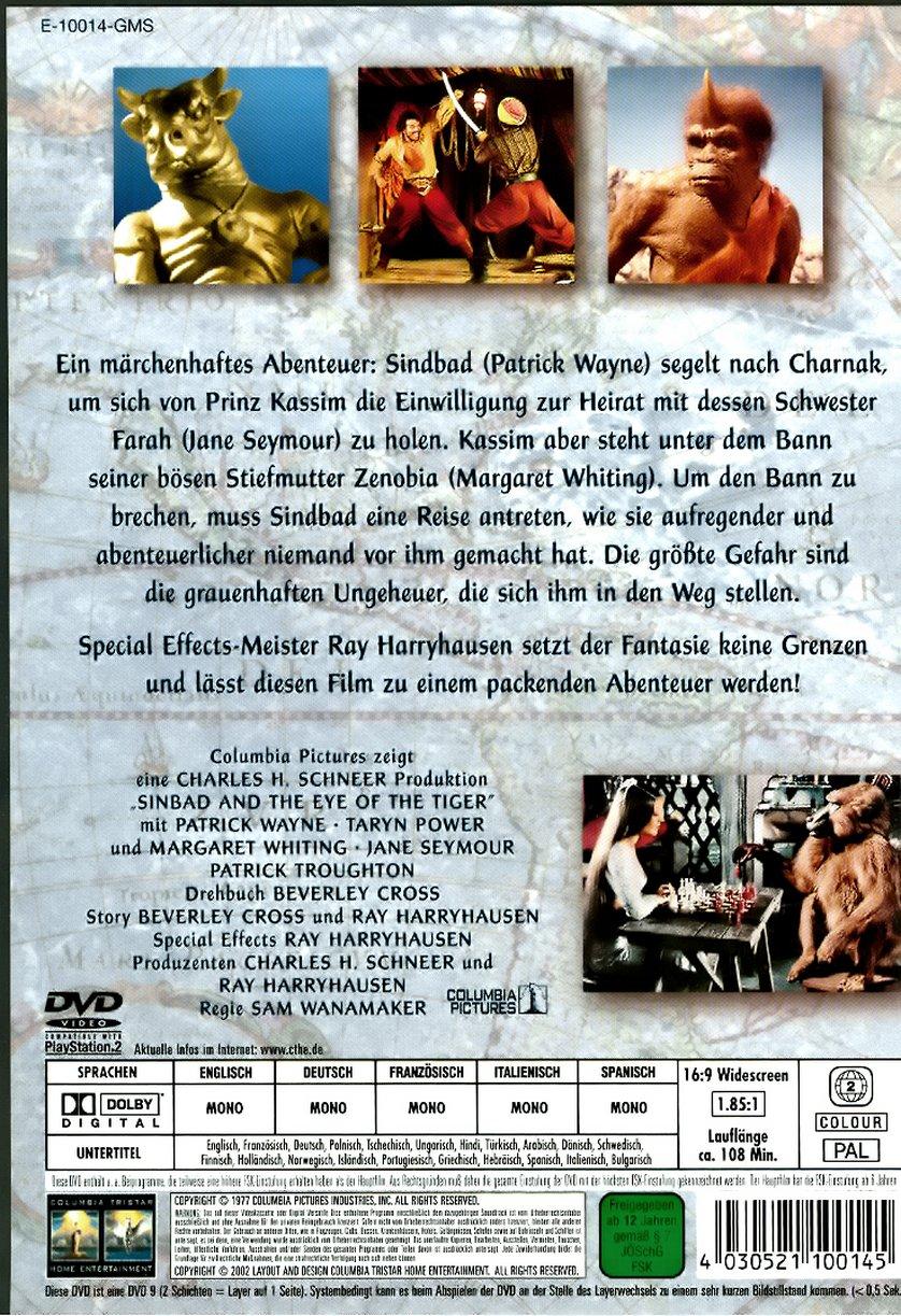Sindbad Und Das Auge Des Tigers Dvd