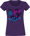 Black Panther Colour Pop powered by EMP (T-Shirt)