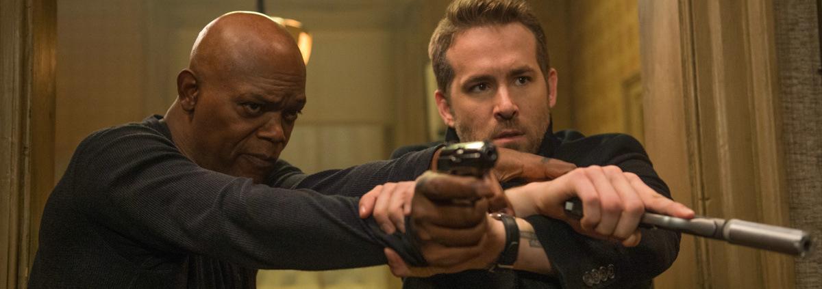 Killer's Bodyguard: Reynolds und Jackson leben am Abzug!